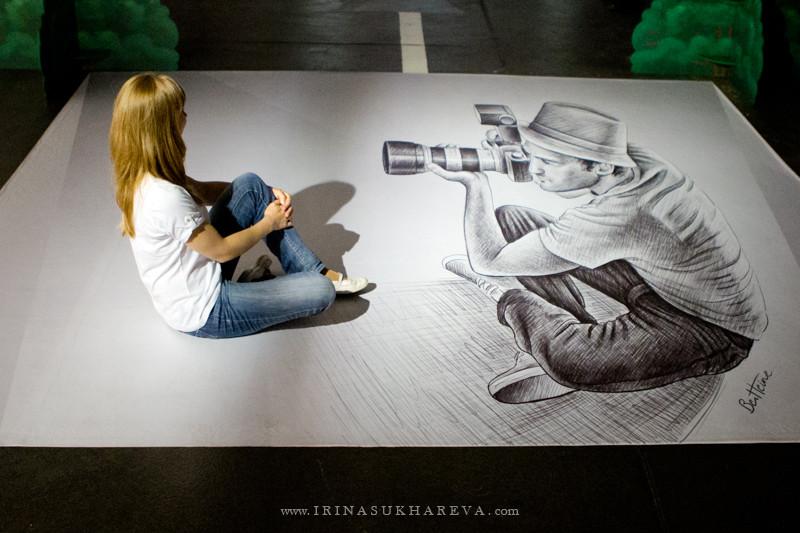 «Карандаш против камеры» или эффект Бена Хайне