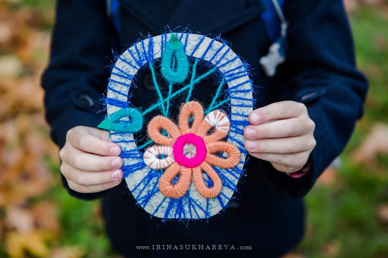 корзина с цветами по технологии 2 класс фото