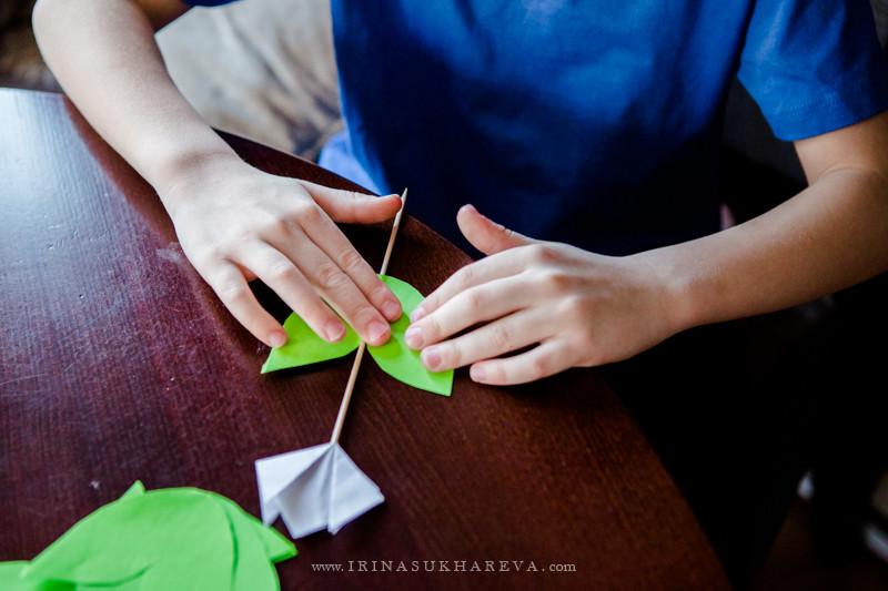 Как красиво оформить сережки в подарок 153