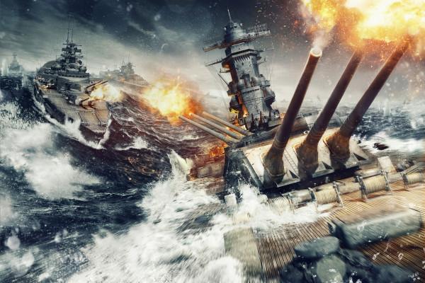 WoWS_Artwork_Sea_Fight