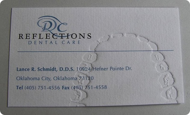 dentist-business-card