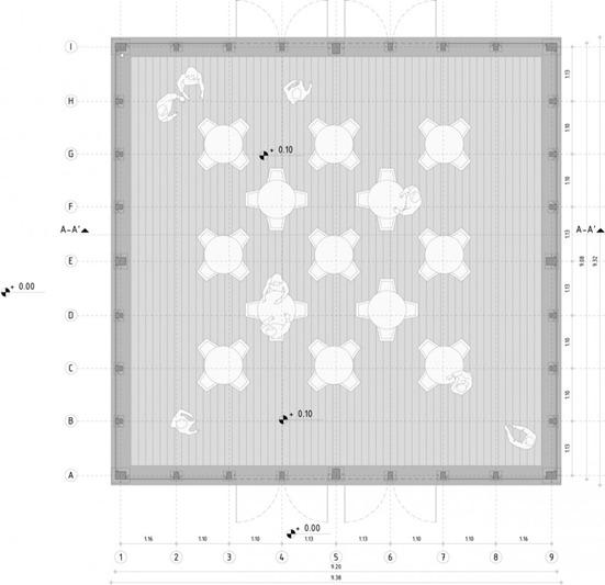 pabellón desconectado  pan b arquitectos (18) planta pabellón