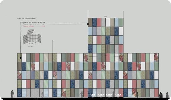 pabellón desconectado  pan b arquitectos (22) elevación pabellón