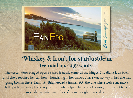 banner for 'Whiskey & Iron' for stardustdean