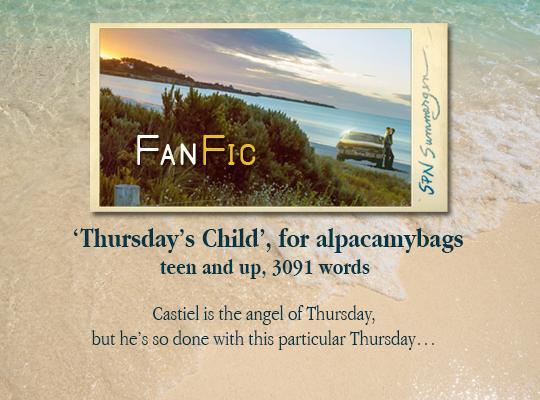 banner for 'Thursday's Child' for alpacamybags