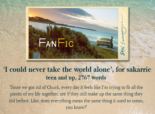 summergenbanner for 'I Could Never Take the World Alone'