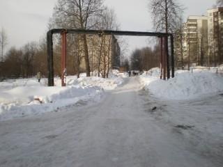 Подъезд к дому №10 по ул.Молдавская