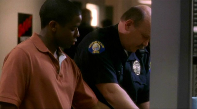 Image result for the west wing season four toby and charlie get arrested