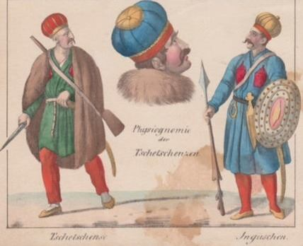 Ингуш и чеченец