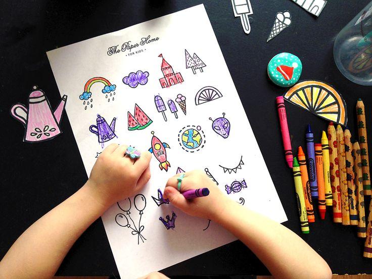 детские раскраски скачать бесплатно