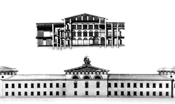 02 Литовский замок. Проект И. И. Шарлеманя.