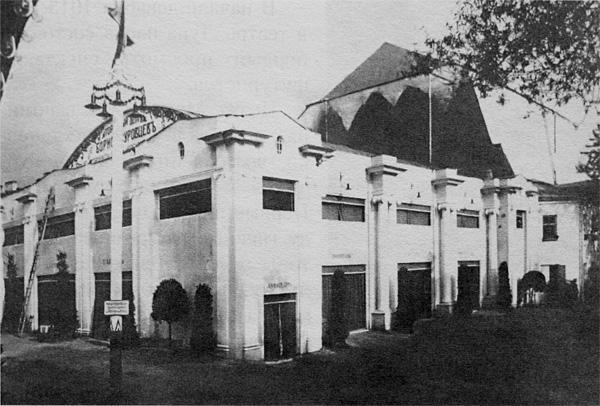 11 Здание театра Б. Суровцева в Луна-парке. Фото 1901 г.