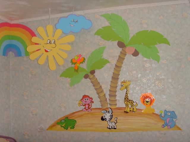 Поделки из потолочной плитки в детском саду