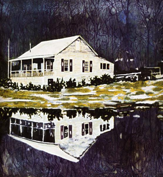 31-peter-doig-camp-forestia-1996-oil-on-canvas-170x170cm