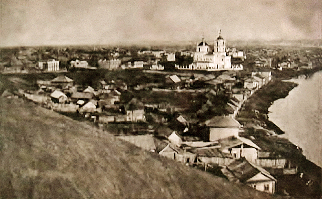 Вид города Кузнецка