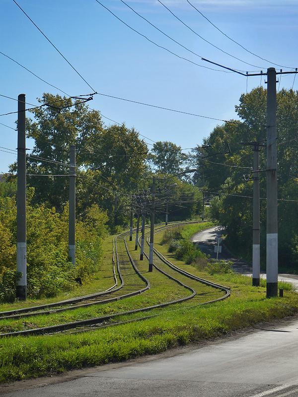 Трамвайная система в Осинниках