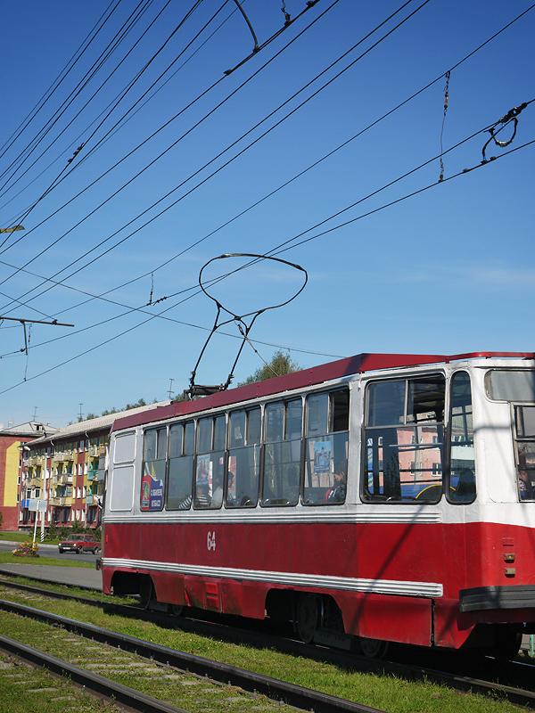 Трамвай в Осинниках