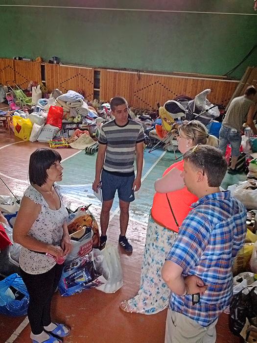 Украинские беженцы в Кемерово
