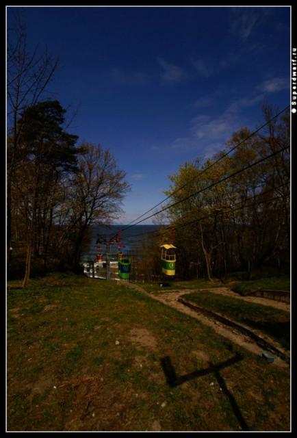 Светлогорск. 1 мая. 2007 года. Канатная дорога.