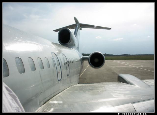 В полет...