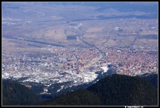 Банско . Вид с горы Тодорка.