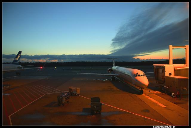 Хельсинки. Аэропорт Вантаа