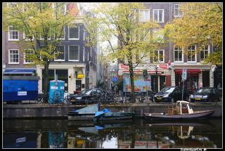 Осень в  туманном Амстердаме