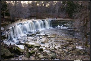 Общий вид водопада