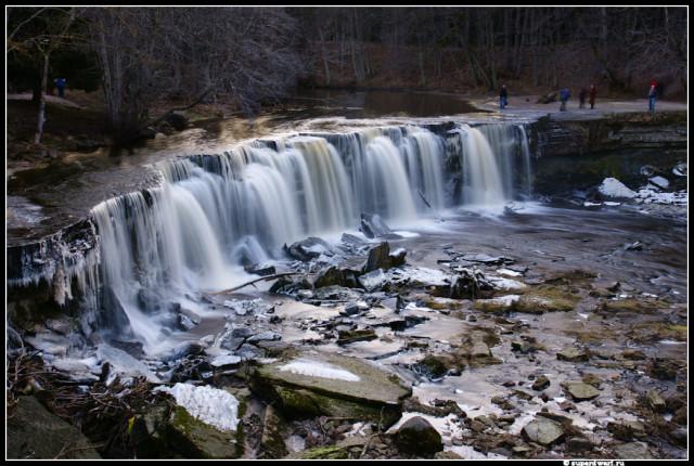 Водопад Кейла. Зимний вариант