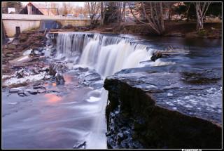 ОБрыв водопада