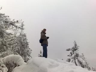 Зимний Горный фотокросс