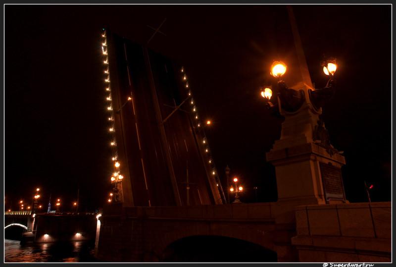 Троицкий мост вблизи