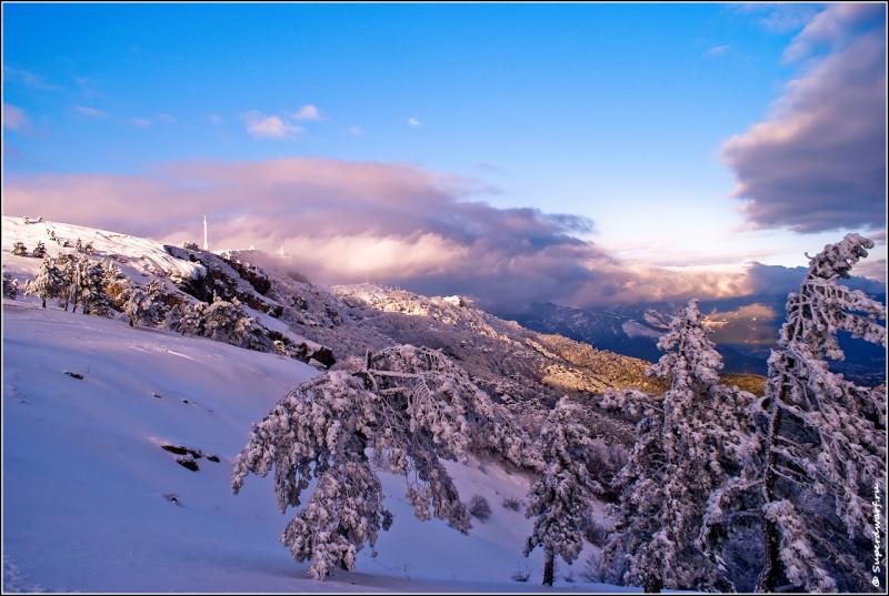 Крымские пейзажи в зимнее время