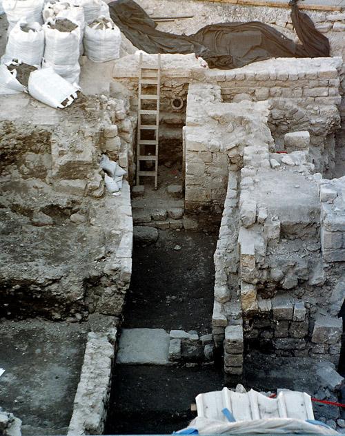 Раскопки на Стене Плача