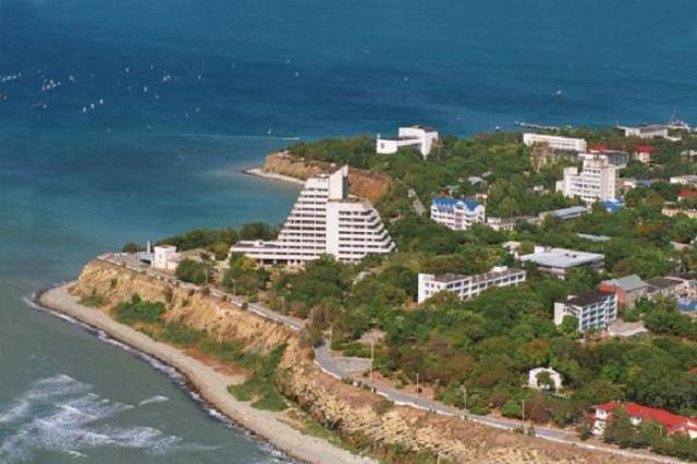 Санаторий «Старинная Анапа» Анапа Пляж