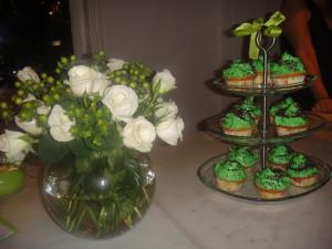 Flowers & Cupcakes at my Baby Sprinkle