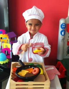 Zayden Cooking