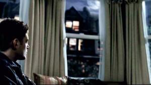 dean at window