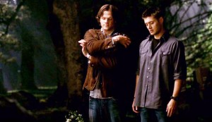 sam and dean standing