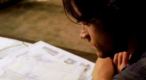 sam with maps
