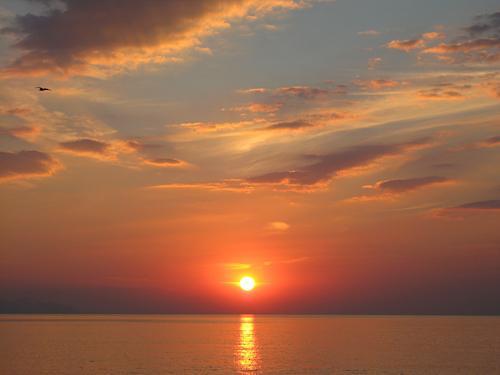 земля восход солнца