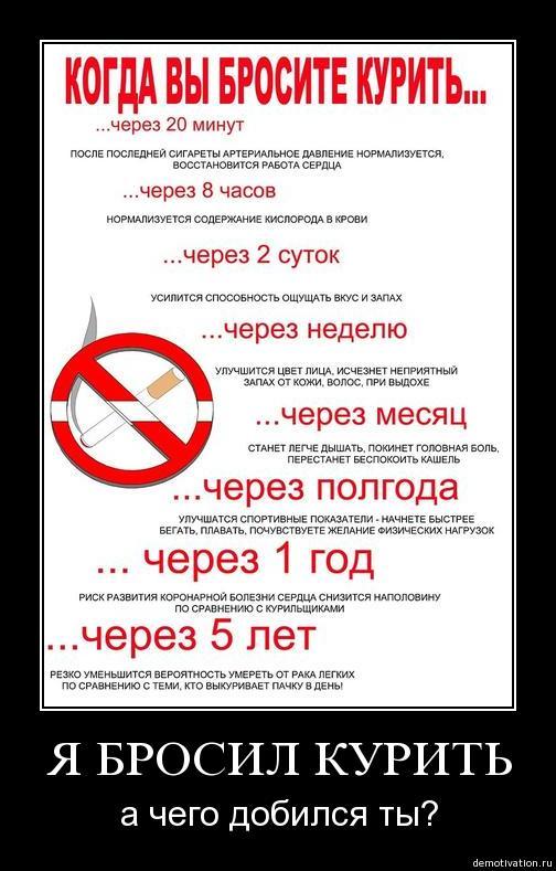 Как бросить курить народные советы