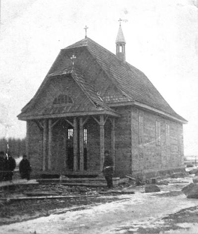 8 касцёл Маці Божай Чэнстахоўскай у Богдзюках Жабінкаўскага раёну (1936)