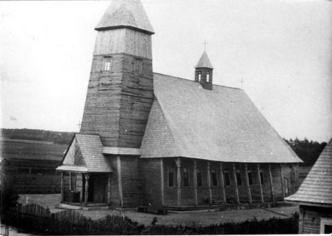 12 Kościół rzymsko – katolicki w Zaostrowieczu
