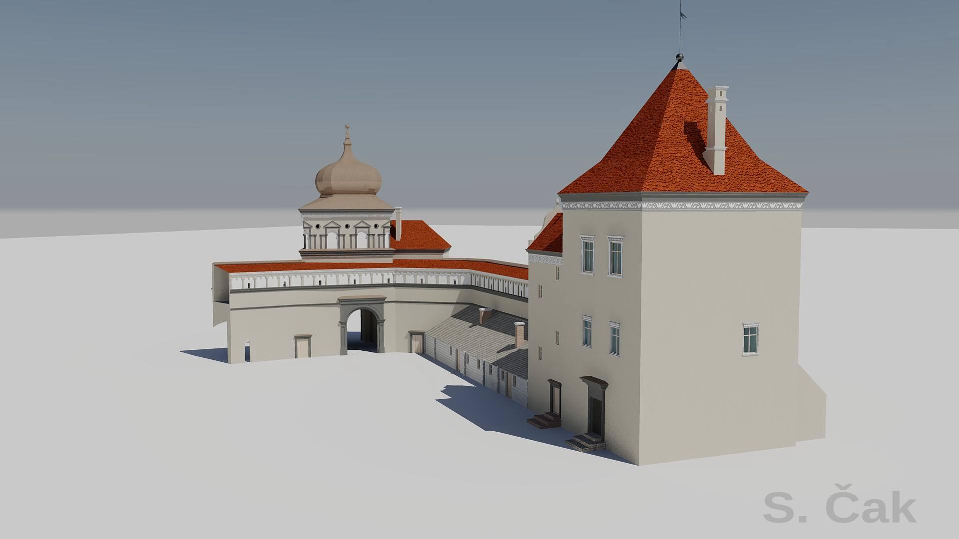 Московский исследователь показал, как могли выглядеть объекты на Старом замке, которые собираются восстанавливать