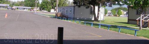 Teachers lot and Academic portables
