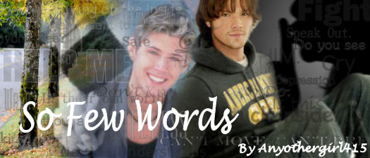 So Few Words by AnyOtherGirl415, banner by Surevesta