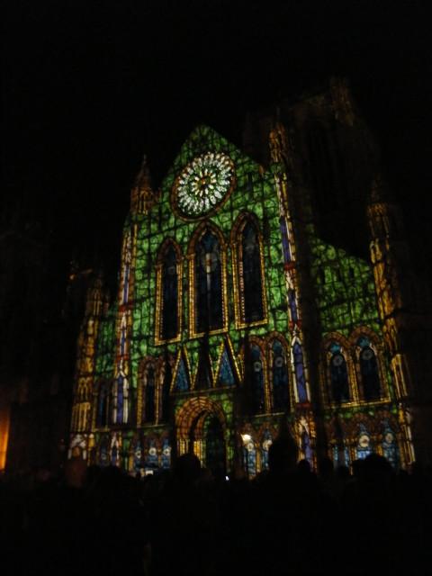 York minster, South End Illuminating York 2010