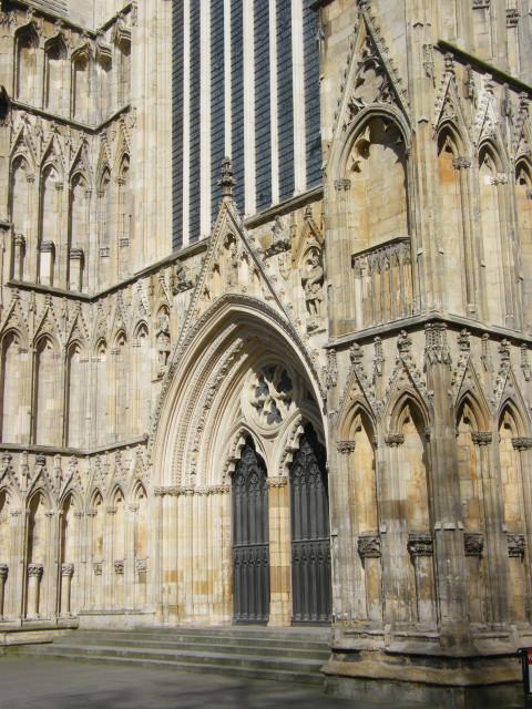 York Minster, West front doors