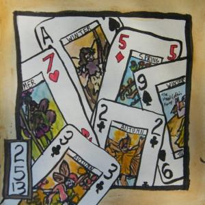 Flower Fairies deck of cards